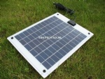 10W Semi Flexible solar panel