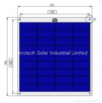 60W Semi Flexible solar panel
